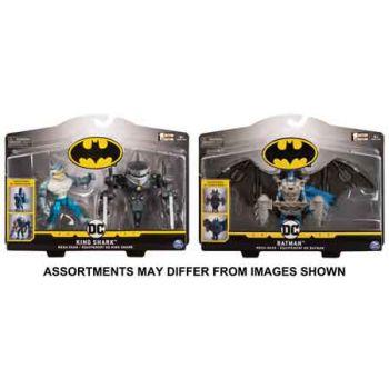 """""""Batman Deluxe 4"""""""" Deluxe Figure - Mega Gear assorted"""""""