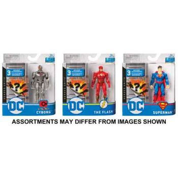 """DC Basic 4"""" Figure assorted ( ONLY SOLD in Carton of 6 )"""