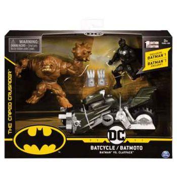 """""""Batman Batcycle with 2 4"""""""" Figures"""""""