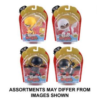 Fart Ninjas assorted ( ONLY SOLD in Carton of 4 )