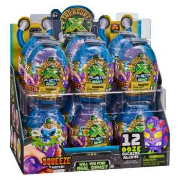 Treasure X Alien Hunters Series 2 Alien Ooze Eggs assorted ( ONLY SOLD in Display of 12 )