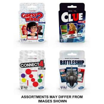 Classic Card Games assorted ( ONLY SOLD in Carton of 8 )