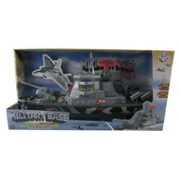 Military Boat with Lights & Sounds