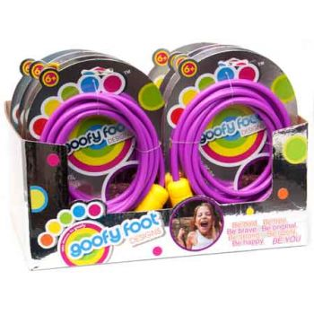 Goofy Foot Jump Rope assorted ( ONLY SOLD in Display of 14 )