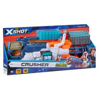 Zuru XSHOT Excel Crusher with 48 darts and dart Belt