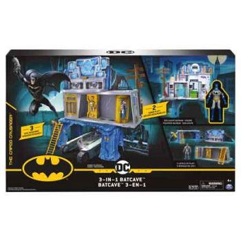 Batman 3 in 1 Batcave Playset