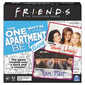 Friends: Losing the Apartment Game