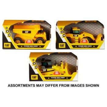 CAT Power Mini Crews assorted ( ONLY SOLD in Carton of 4 )