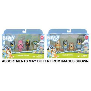 Bluey Series 2 Figure Friends 4pk assorted ( ONLY SOLD in Carton of 4 )