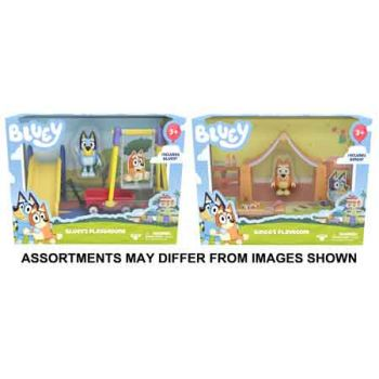 Bluey Series 2 Mini Playset assorted ( ONLY SOLD in Carton of 2 )