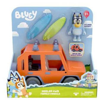 Bluey Series 2 Heeler 4WD Family Vehicle ( ONLY SOLD in Carton of 2 )