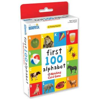First 100 Matching Card Game - Alphabet ( ONLY SOLD in Display of 12 )