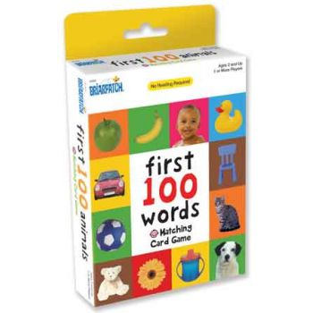 First 100 Matching Card Game - Words ( ONLY SOLD in Display of 12 )