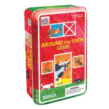 The World of Eric Carle - Around the Farm Game in Tin