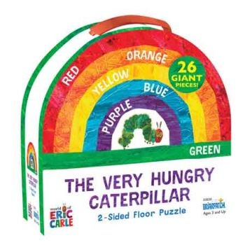The Very Hungry Caterpillar 2 Sided Floor Puzzle