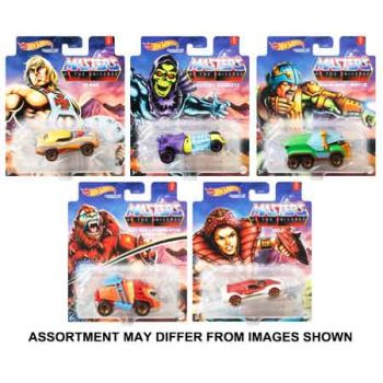 Hot Wheels Studio Character assorted ( ONLY SOLD in Carton of 8 )