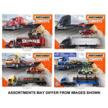 Matchbox Convoy Diecast Trucks assorted