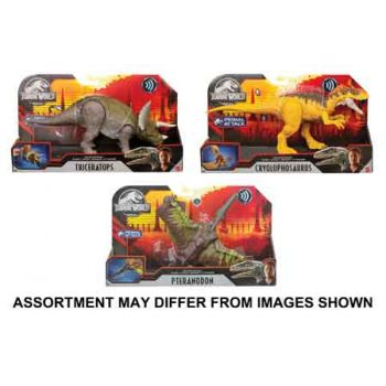 Jurassic World Sound Strike assorted ( ONLY SOLD in Carton of 3 )