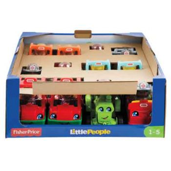 Fisher Price Little People Small Vehicles assorted ( ONLY SOLD in Display of 12 )