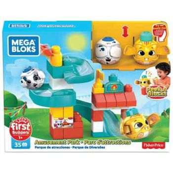 Mega Bloks Peek a Blocks Chase n Slide Playhouse