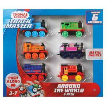 Thomas & Friends Track Master Around the World 6 Pack