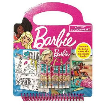 Barbie Activity Colouring Set ( ONLY SOLD in Display of 6 )
