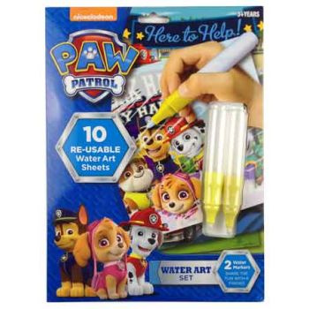 Paw Patrol Water Art Set ( ONLY SOLD in Display of 6 )