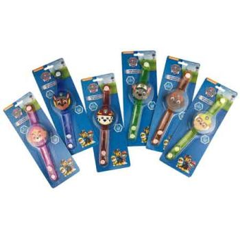 Paw Patrol LED Light Up Bands assorted ( ONLY SOLD in Display of 20 )