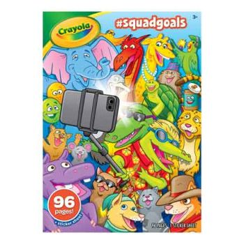 Crayola #Squadgoals Colouring Book
