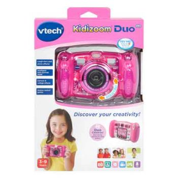 Vtech Kidizoom Camera Duo 5.0 Pink