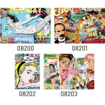 Sure Lox 1000pce Jigsaw Puzzle - Nelson De La Nuez/King of Pop Art Collection assorted ( ONLY SOLD in Carton of 6 )