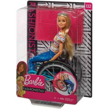 Barbie Wheelchair Doll