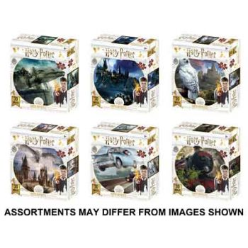 Super3D 500pc Puzzle Harry Potter assorted ( ONLY SOLD in Carton of 6 )