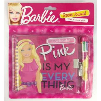 Barbie Lockable Secret Diary ( ONLY SOLD in Display of 6 )