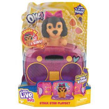 Little Live Pets OMG Pets Got Talent Playset