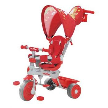 Trike Star 3 in 1 Grand Comfort Tricycle - RED