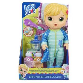 Baby Alive Mix My Medicine Doll