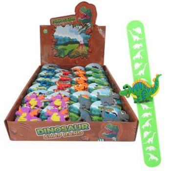 Dino Slap Band assorted ( ONLY SOLD in Display of 24 )