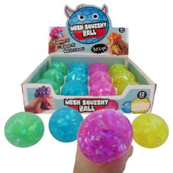 Squeeze Crystal Ball assorted ( ONLY SOLD in Display of 12 )