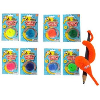 Magic Twisty Worm assorted ( ONLYY SOLD in Carton of 24 )