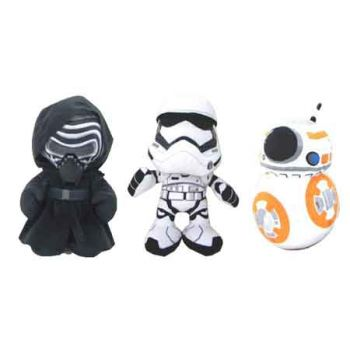 Star Wars Medium Plush assorted ( ONLY SOLD in Carton of 6 )