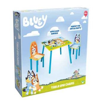 Bluey Wooden Table & Chair Set