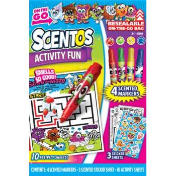 Scentos On-the-Go Activity Fun