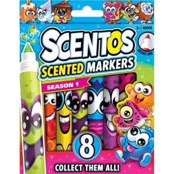 Scentos Scented Classic Markers 8pk