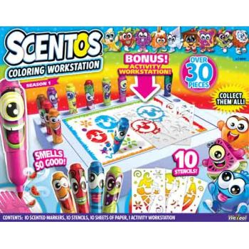 Scentos Scented Colouring Workstation