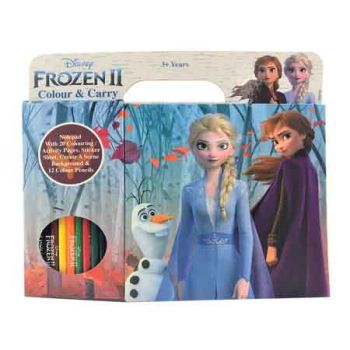 Frozen 2 Colour & Carry