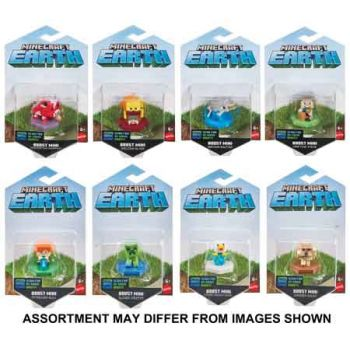 Minecraft Boost Mini Figure Singles assorted ( ONLY SOLD in Carton of 8 )