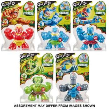 Heroes of Goo Jit Zu Series 3 Dino assorted ( ONLY SOLD in Carton of 8 )
