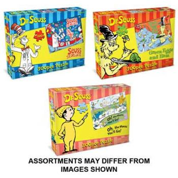 Dr.Seuss 300pce Puzzle assorted ( ONLY SOLD in Carton of 6 )