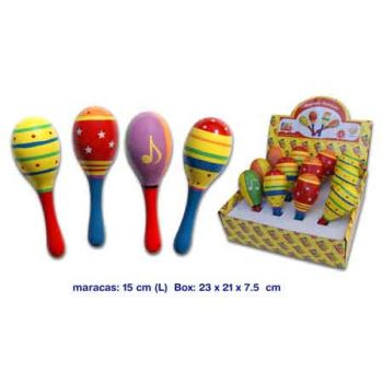 Fun Factory Wooden Maracas ( ONLY SOLD in Display of 12 )